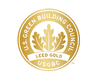 U.S. Green Building Council LEED Gold award