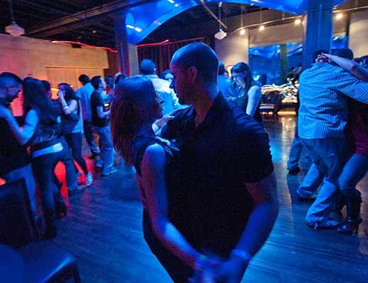 Casablanca dancefloor with couple dancing
