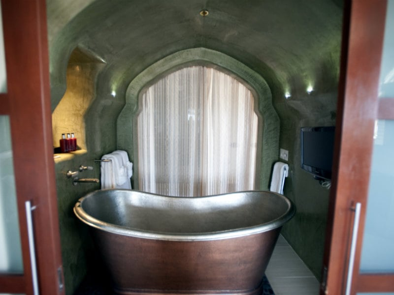 One King Bed Presidential Suite Bathtub